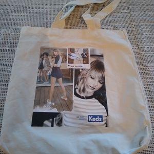 Taylor Swift Canvas Tote Bag Keds